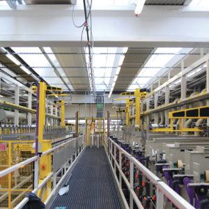 impianti galvanici automatici a telaio